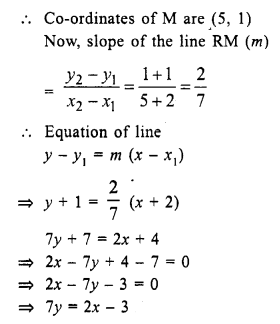 Selina Concise Mathematics Class 10 ICSE Solutions Chapter 14 Equation of a Line Ex 14E 18.1