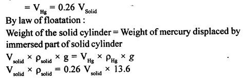 A New Approach to ICSE Physics Part 1 Class 9 Solutions Archimedes' Principle..0019