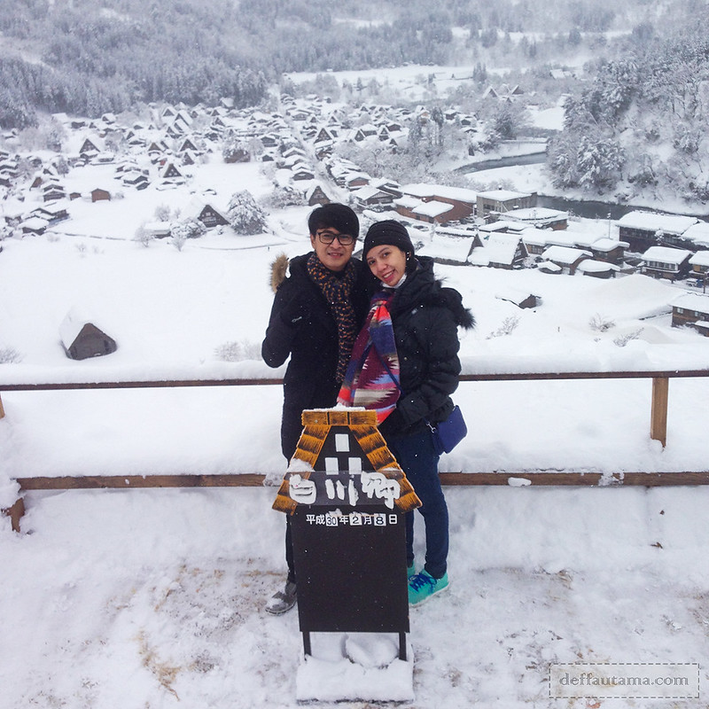 Babymoon ke Jepang - Shiroyama Viewpoint