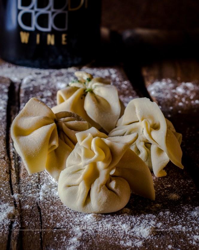 Caramelle di pasta fresca alla riduzione di DìWine