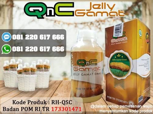 QnC Jelly Gamat ahlinya masalah pencernaan