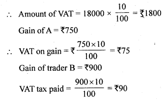ML Aggarwal Class 10 Solutions for ICSE Maths Chapter 1 Value Added Tax Ex 1 1