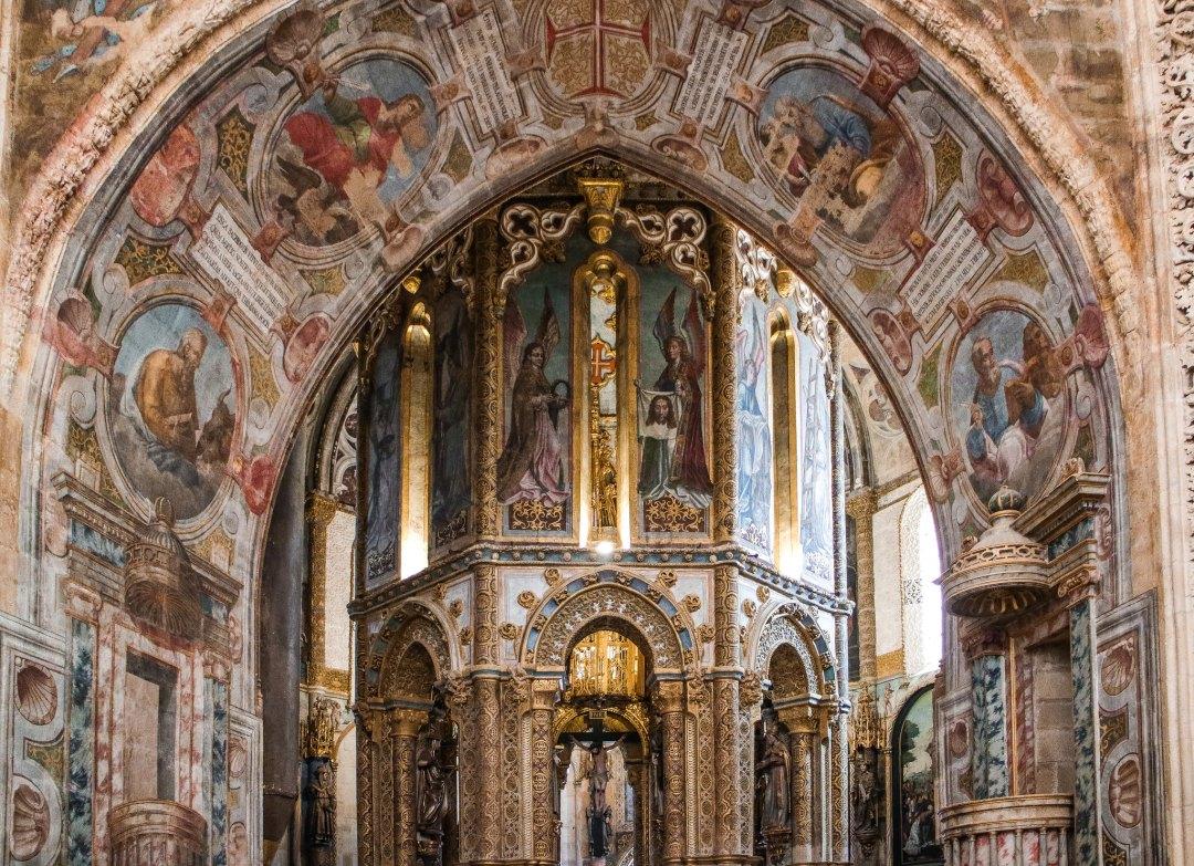 Convento de Cristo (charola)
