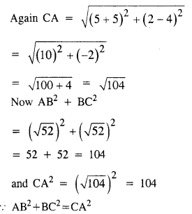 Selina Concise Mathematics Class 10 ICSE Solutions Chapter 13 Section and Mid-Point Formula Ex 13C 13.2