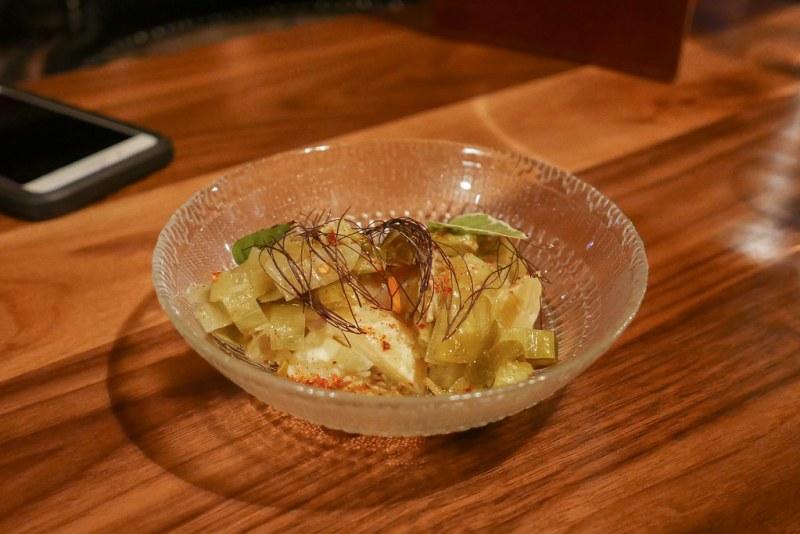 Leek Mimosa, Sunflower Butter, Potato $12