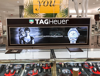 Duratran Transparency at Macy's