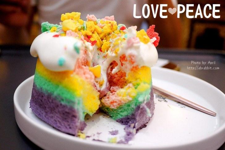 29870349568 b96d302cf0 b - 台中逢甲甜點 LOVE PEACE-超美的彩虹蛋糕、海綿寶寶馬卡龍(10月過後新店開幕目前暫停營業)