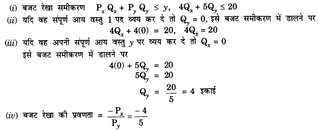 NCERT Solutions for Class 12 Microeconomics Chapter 2 Theory of Consumer Behavior (Hindi Medium) 4