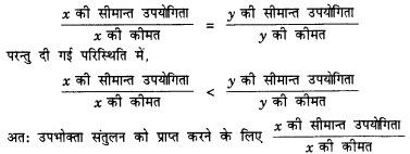 NCERT Solutions for Class 12 Microeconomics Chapter 2 Theory of Consumer Behavior (Hindi Medium) 1.1