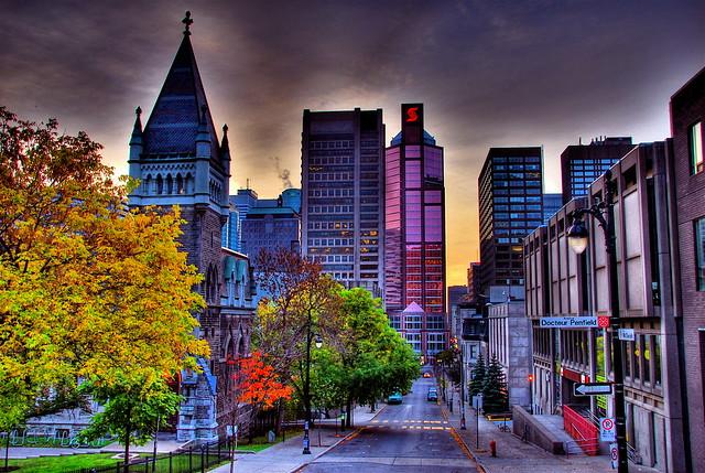 Montreal Skyline Flickr Photo Sharing