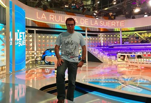 Nacho en La Ruleta