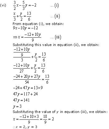 NCERT Solutions for Class 10 Maths Chapter 3 Pair of Linear Equations in Two Variables 48