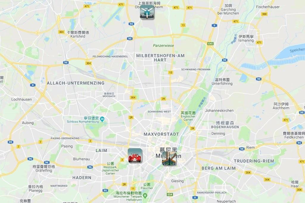 3 Deutsches Museum Map