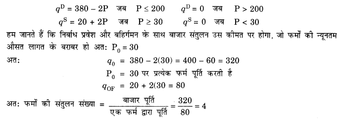 NCERT Solutions for Class 12 Microeconomics Chapter 5 Market Competition (Hindi Medium) 8