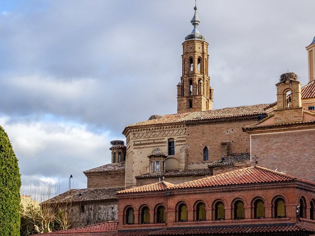 vista exterior Iglesia San Francisco de Asis y exconvento Tarazona Zaragoza 01