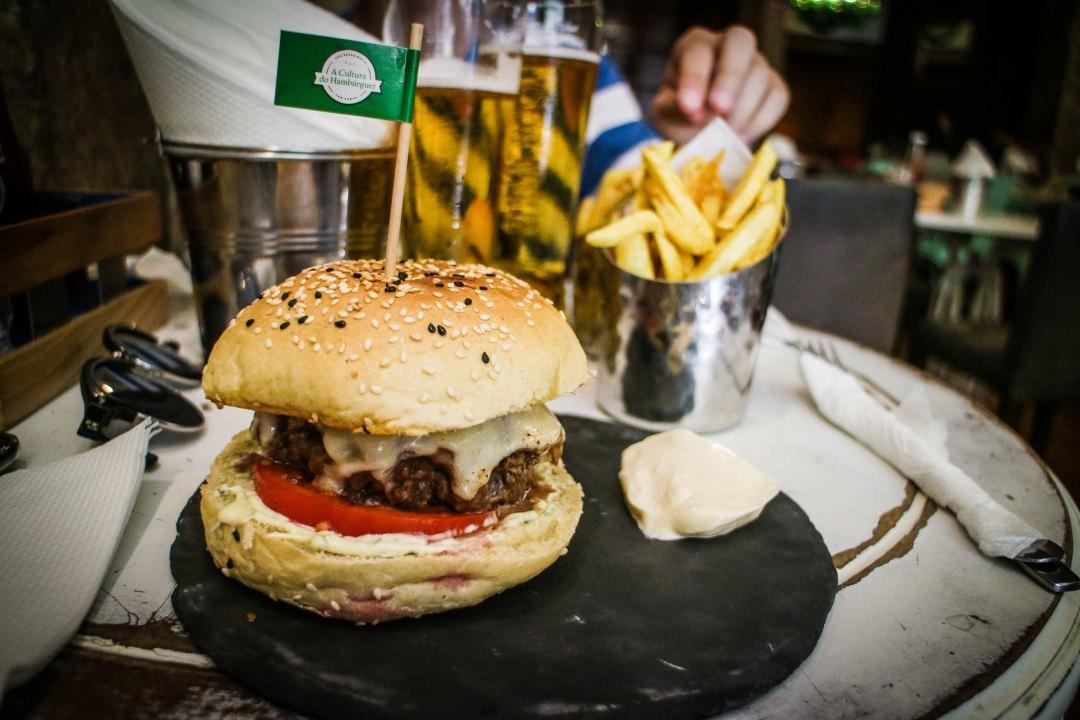 A Cultura do Hamburger, Lisbona