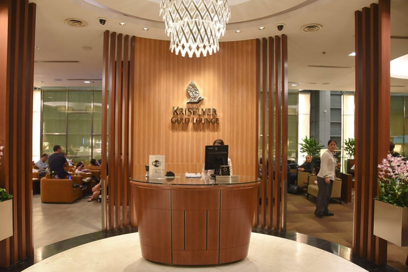 entrance to krisflyer gold lounge changi terminal 3