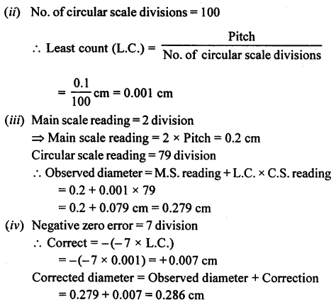 A New Approach to ICSE Physics Part 1 Class 9 Solutions Measurements and Experimentation 36.1
