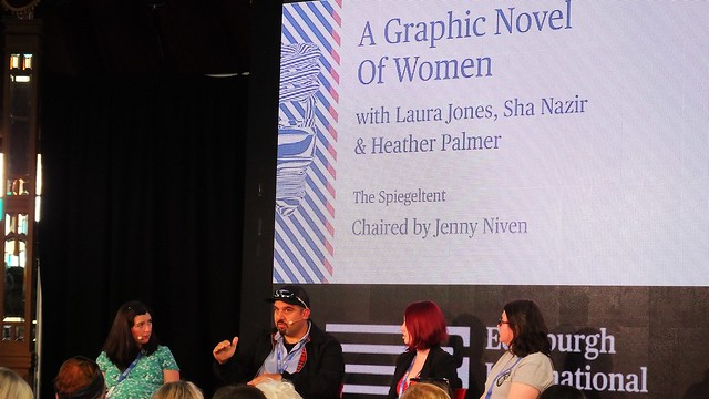 Edinburgh International Book Festival 2018 - A Graphic Novel of Women 01