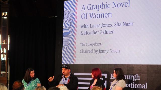 Edinburgh International Book Festival 2018 - A Graphic Novel of Women 01