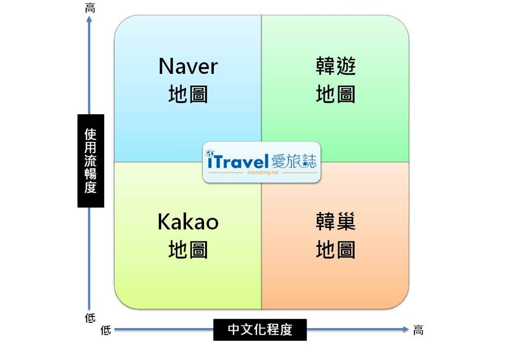 Korea map app