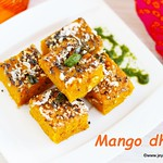 Mango Dhokla recipe