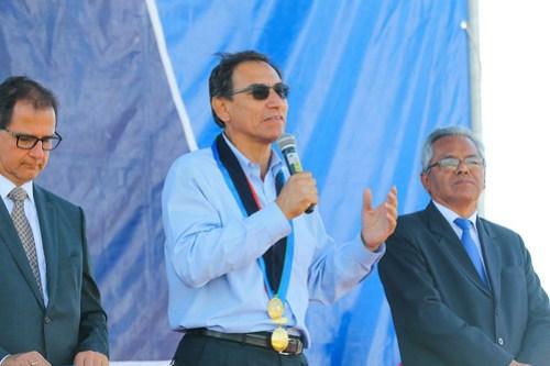 """Presidente Vizcarra inaugura IV Congreso Internacional Sur Minero """"IV COMASURIM, en Moquegua-26"""