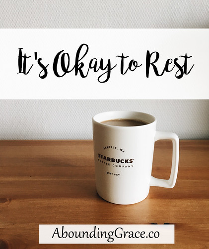 It's Okay to Rest