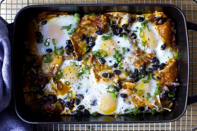 chilaquiles brunch casserole
