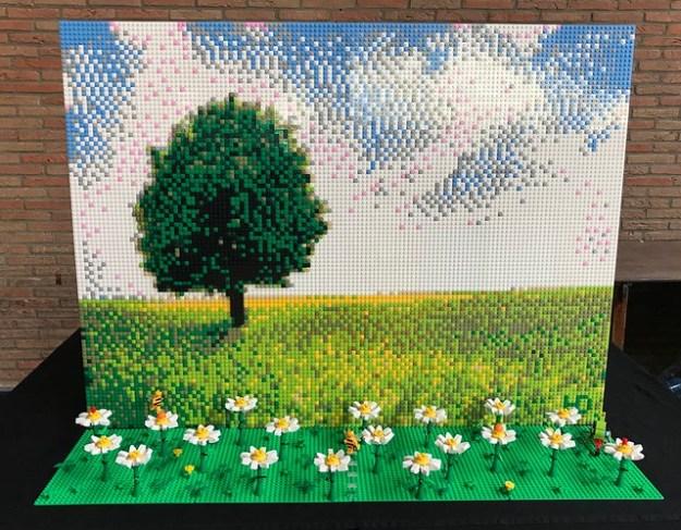 LEGO Mosaic: Landscape