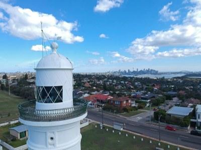 Sydney from the Macquarie lighthouse #marineexplorer