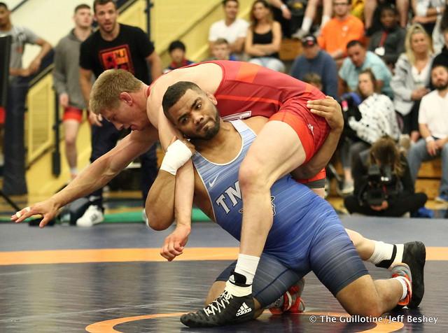 92kg: Hayden Zillmer (Minnesota Storm) vs Deron Winn (Titan Mercury). 180520AJF0212