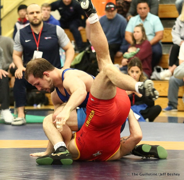 65kg: Jaydin Eierman (Titan Mercury) vs Logan Stieber (Titan Mercury). 180520AJF0077