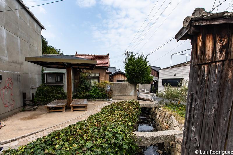 Zonas de descanso en Naoshima