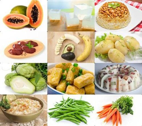 Kumpulan Makanan Yang Baik Dikonsumsi Saat Tipes