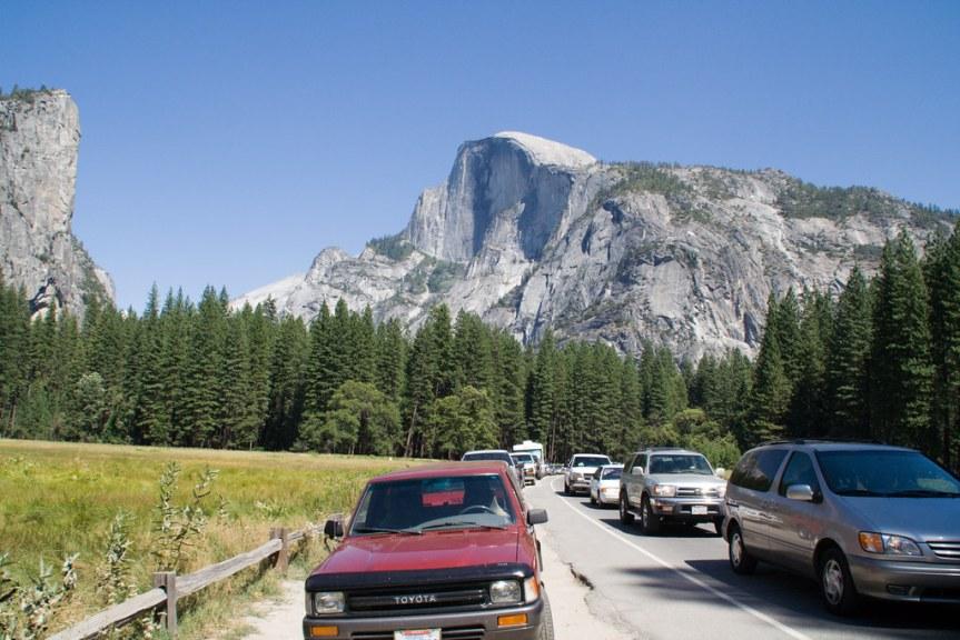 Traffic Jam at Yosemite