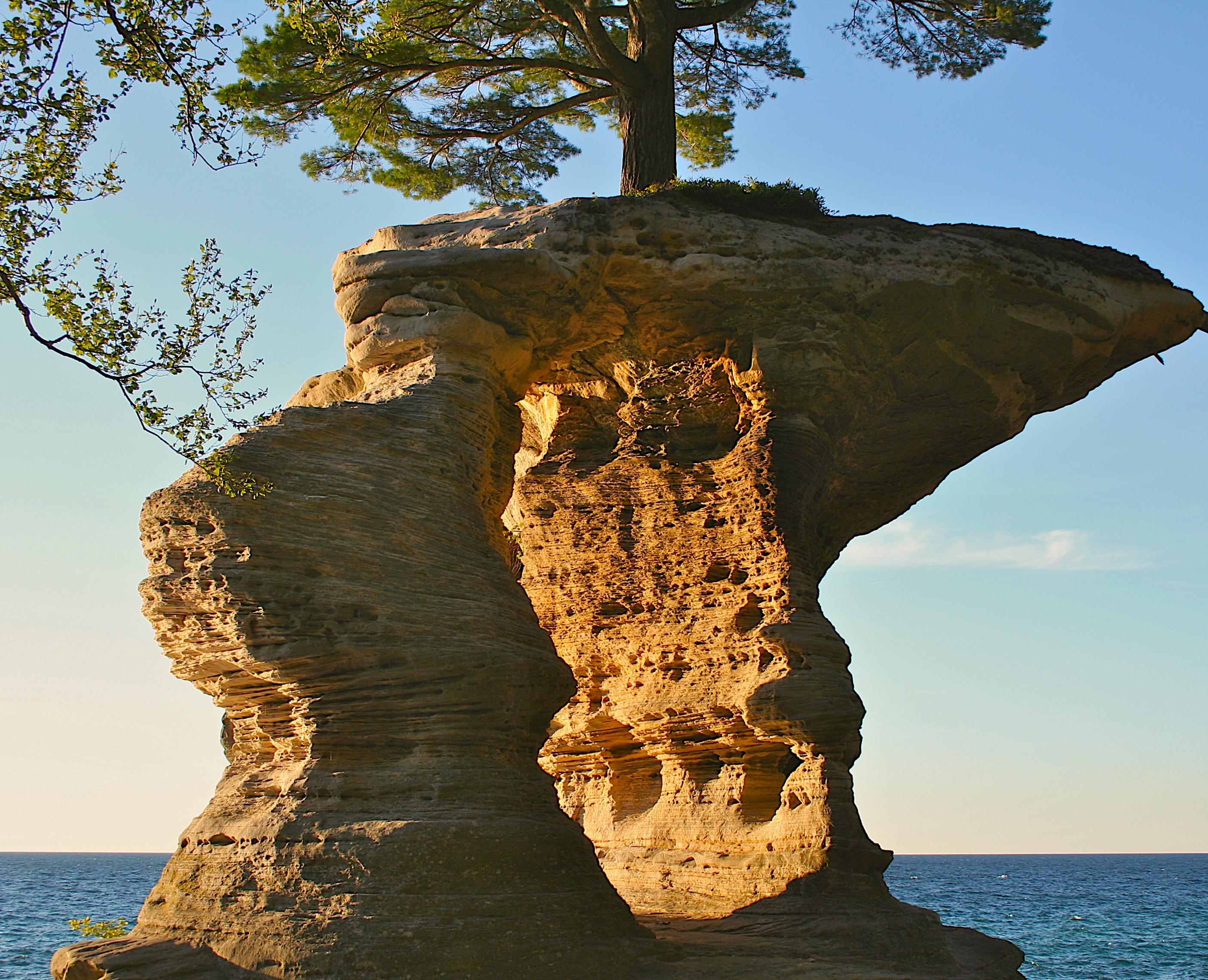 Chapel Rock Pictured Rocks National Lakeshore Michigan