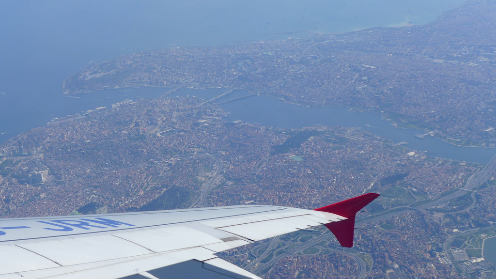 Turquie mai 2013 - Cappadoce 08 - Vol Istanbul Kayseri