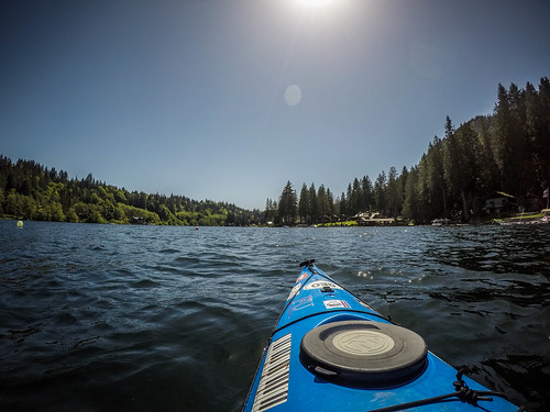 Lake Whatcom Paddling-35