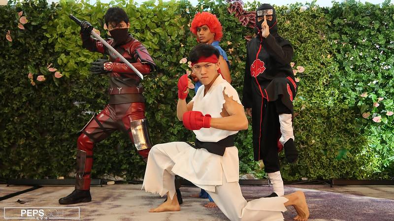 Cosplay Singapore Ryu