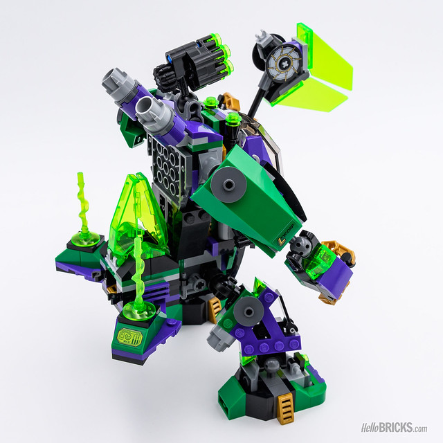 REVIEW LEGO 76097 Lex Luthor Mech Takedown
