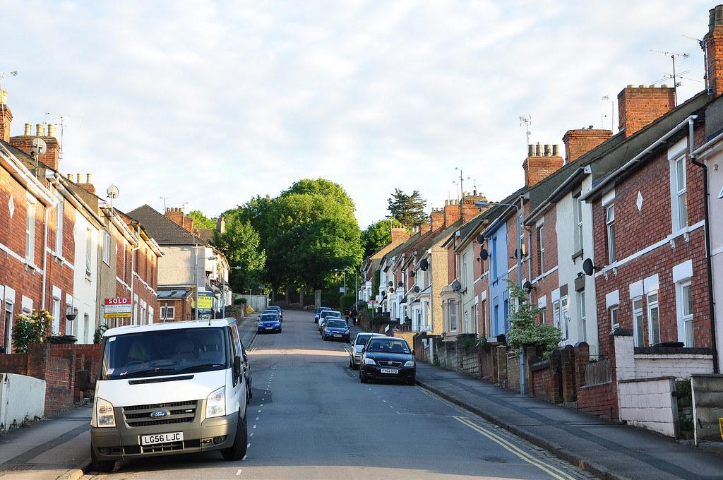 Up the Deacon Street, Swindon, UK