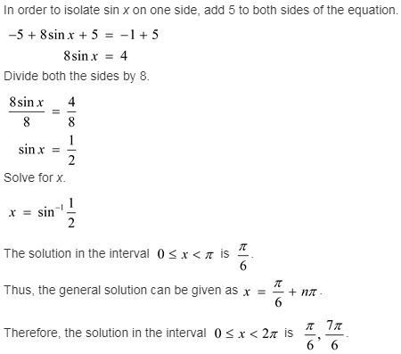 larson-algebra-2-solutions-chapter-14-trigonometric-graphs-identities-equations-exercise-14-6-57e