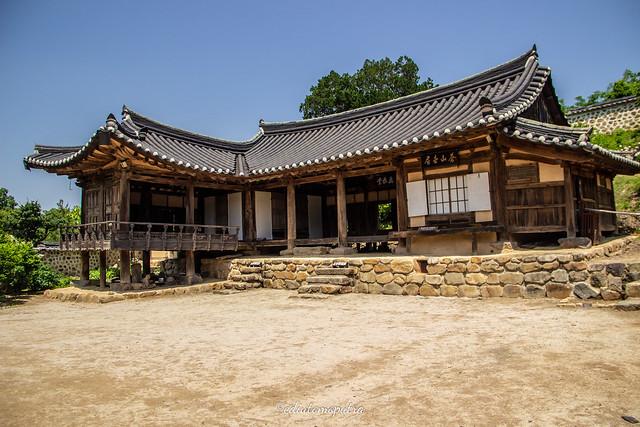 Salah Satu rumah di Yangdong Village (@ediutomoputra)
