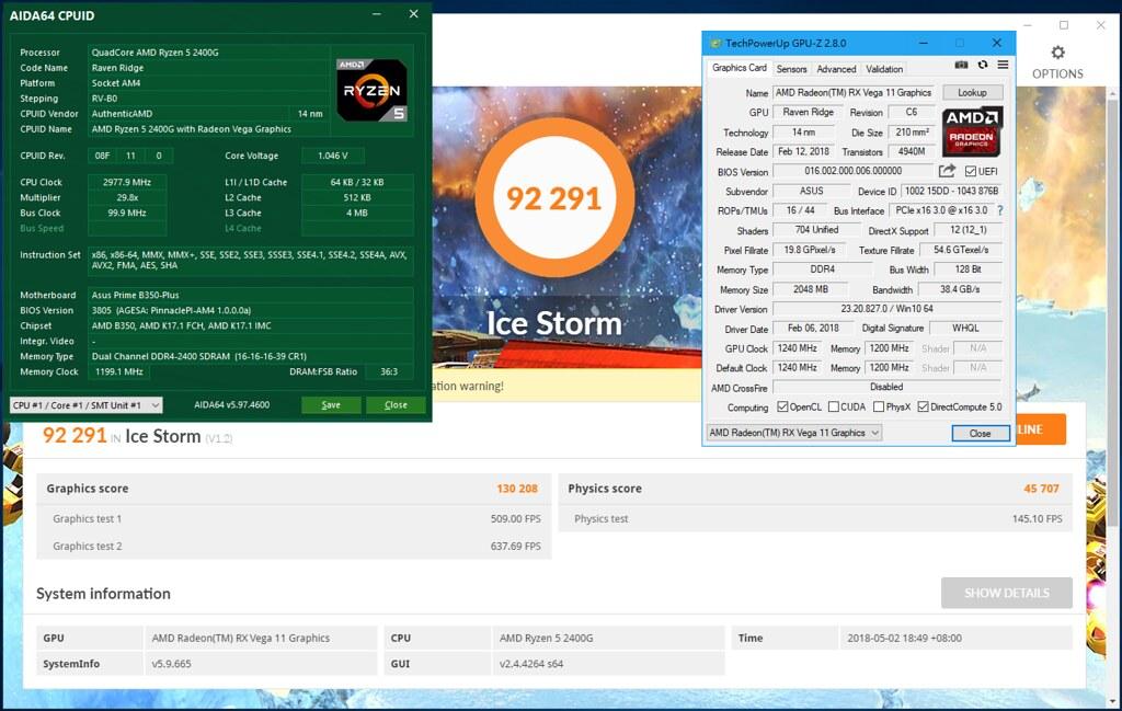 小資族高CP首選 AMD Ryzen 5 2400G 內顯也可讓你暢玩熱門遊戲 @ KingS Multi-Tech :: 痞客邦
