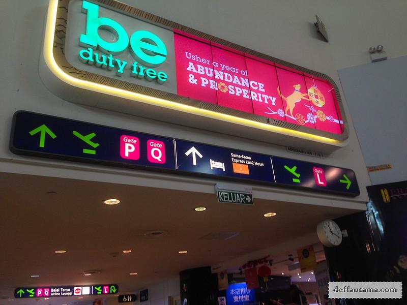 9 Hari Babymoon ke Jepang - Duty Free KLIA2