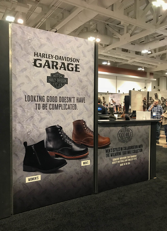 Harley Davidson Styrene Trade Show Display