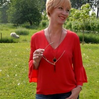 Outfit of the week: Red blouse