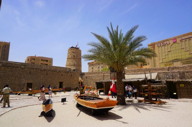 Inside Al Fahidi Fort
