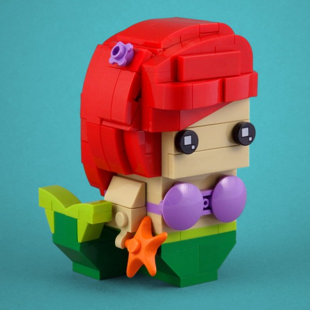BrickHeadz: The Little Mermaid